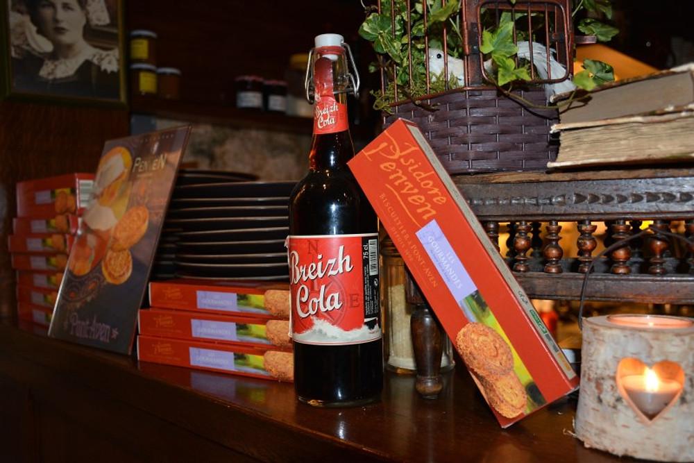 Les fameuses galettes et le coca breton !