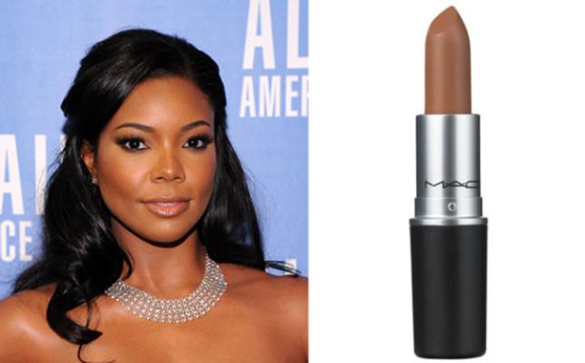 MAC Lipstick in Siss ($16): If you have rich, dark skin..