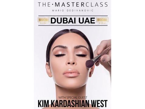 Rendez-vous à Dubaï pour une leçon de maquillage avec Kim Kardashian ?