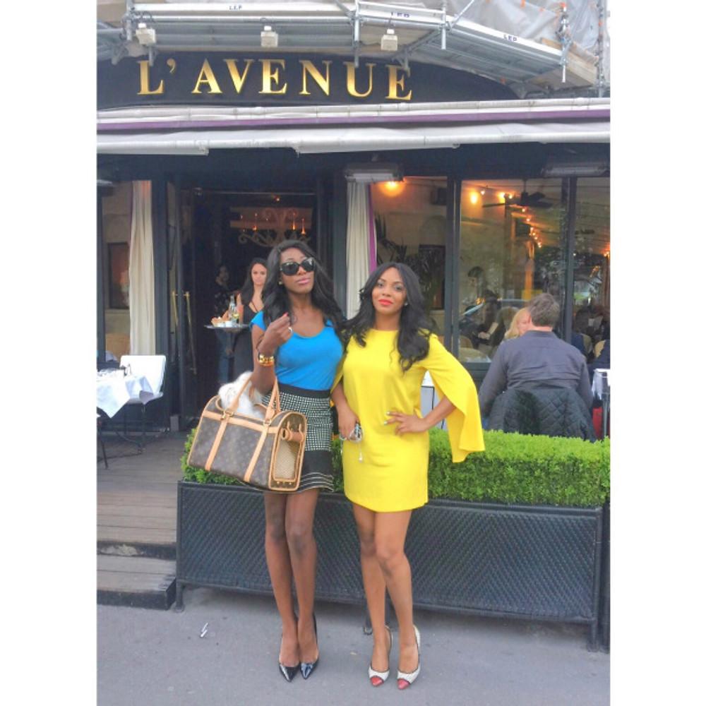 A L'AVENUE AVEC LAURA LAYTON & VANESSA'S SECRETS