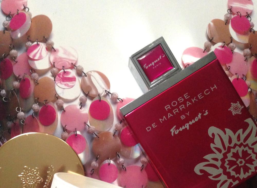 """Rose de Marrakech"" Prix : 56€ les 50 ml"