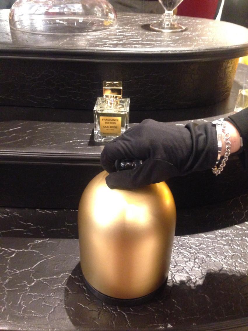 La pprésentation était à l'image de la marque : Luxueuse et distinguée ...