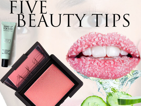 5 Beauty Tips !