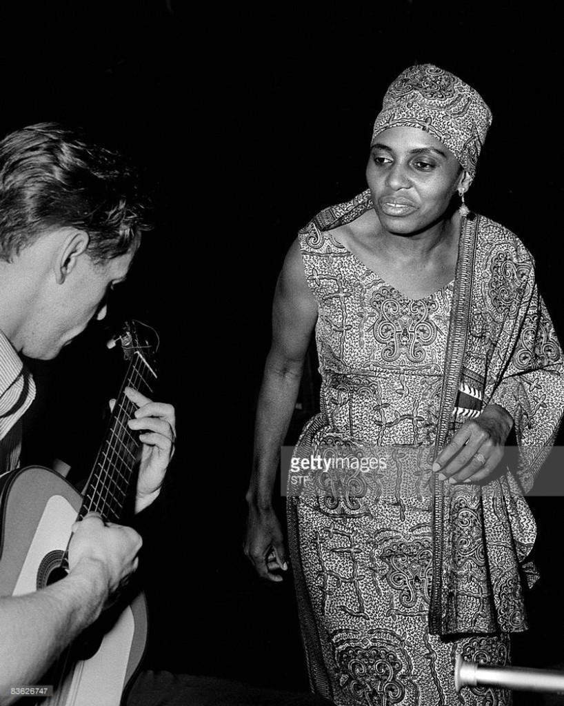 "Miriam Makeba, surnommée ""Mama africa"""