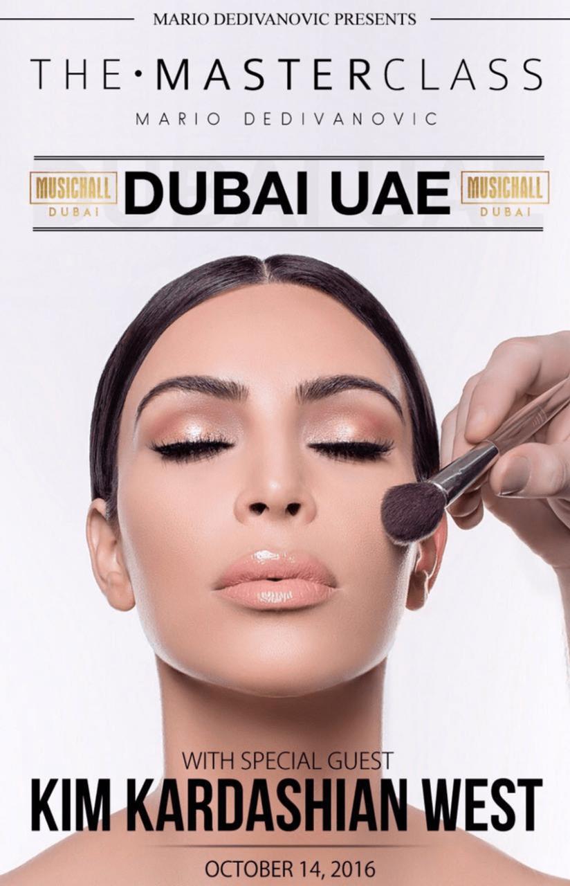 The Masterclass DUBAI featuring Kim and Mario