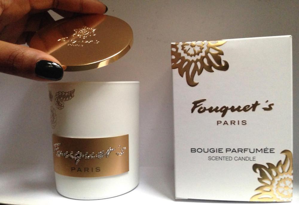 Bougie FOUQUET's - Blanche - gourmandise extrême 49€