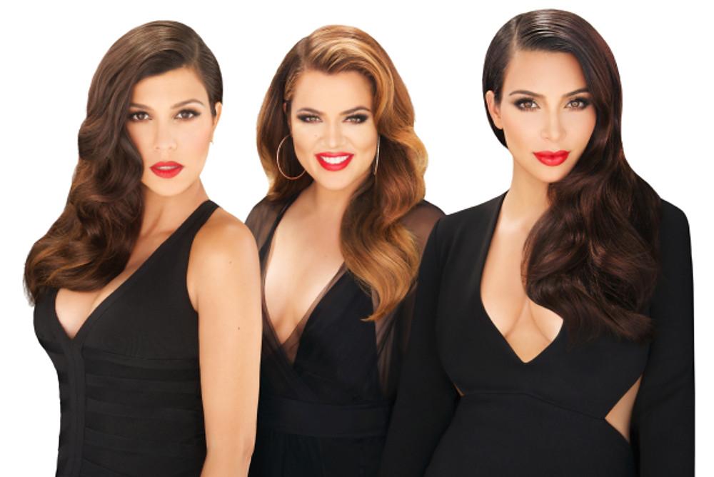 Kourtney, Khloe ,Kim, Kardashian Beauty