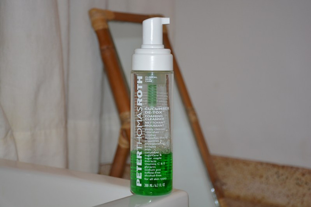 CUCUMBER DeE-TOX FOAMING CLEANSER DE PETER THOMAS ROTH 25,90€ les 115ml