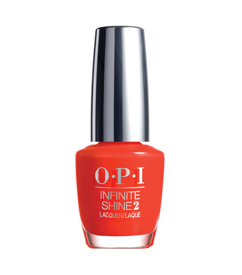Le vernis Infinite Shine No Stopping Me Now de OPI, 16 € (chez Sephora).