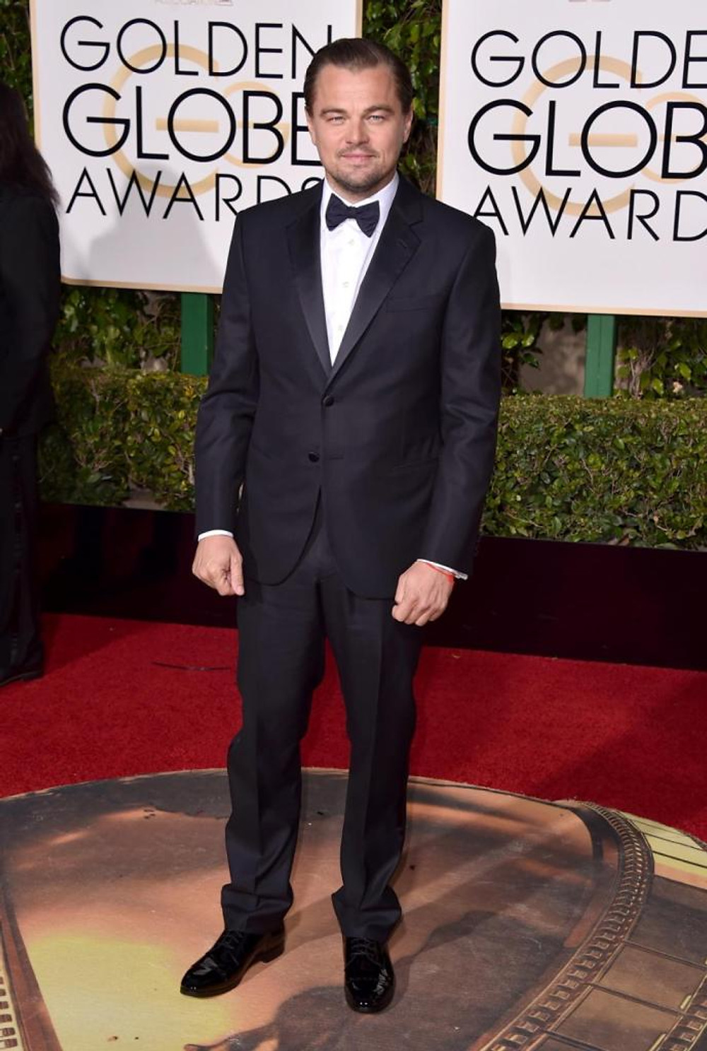Leonardo DiCaprio arrives at the 73rd annual Golden Globe Awards on Sunday, Jan. 10, 2016, at the Beverly Hilton Hotel in Beverly Hills, Calif.