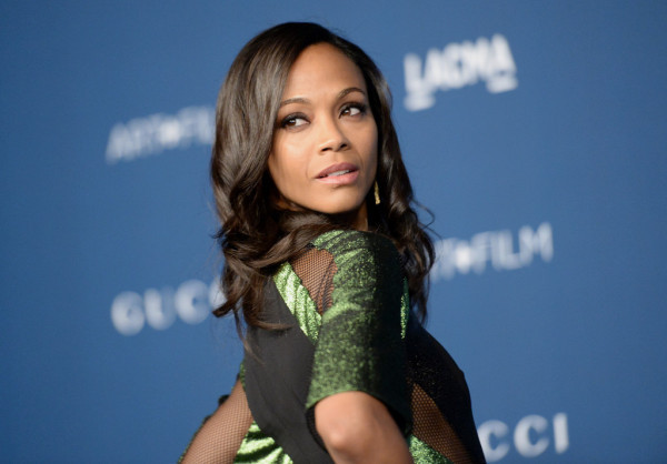 Zoe-Saldana-in-Gucci-LACMA-2013-Art-+-Film-Gala-honoring-Martin-Scorsese-and-David-Hockney-4-600x418