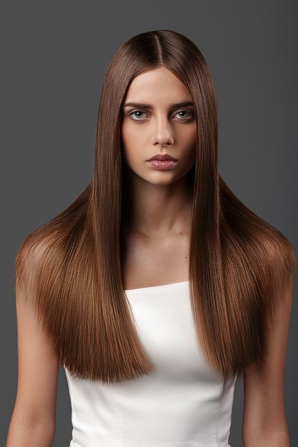 Long & Straight Hair