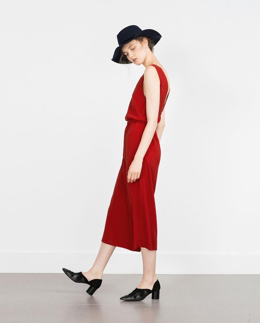 Zara - FANCY CROPPED JUMPSUIT 49,95€