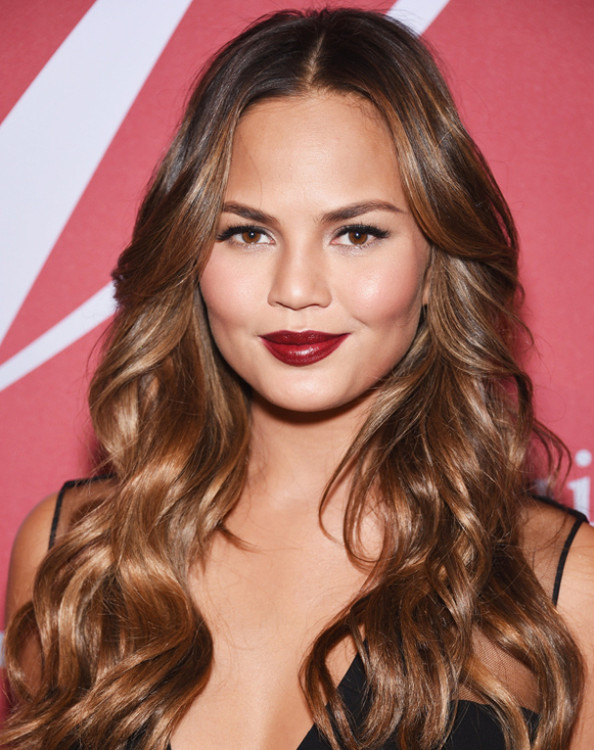 NEW YORK, NY - OCTOBER 23: Model Chrissy Teigen attends the 31st Annual FGI Night of Stars event at Cipriani Wall Street on October 23, 2014 in New York City. (Photo by Dimitrios Kambouris/Getty Images)