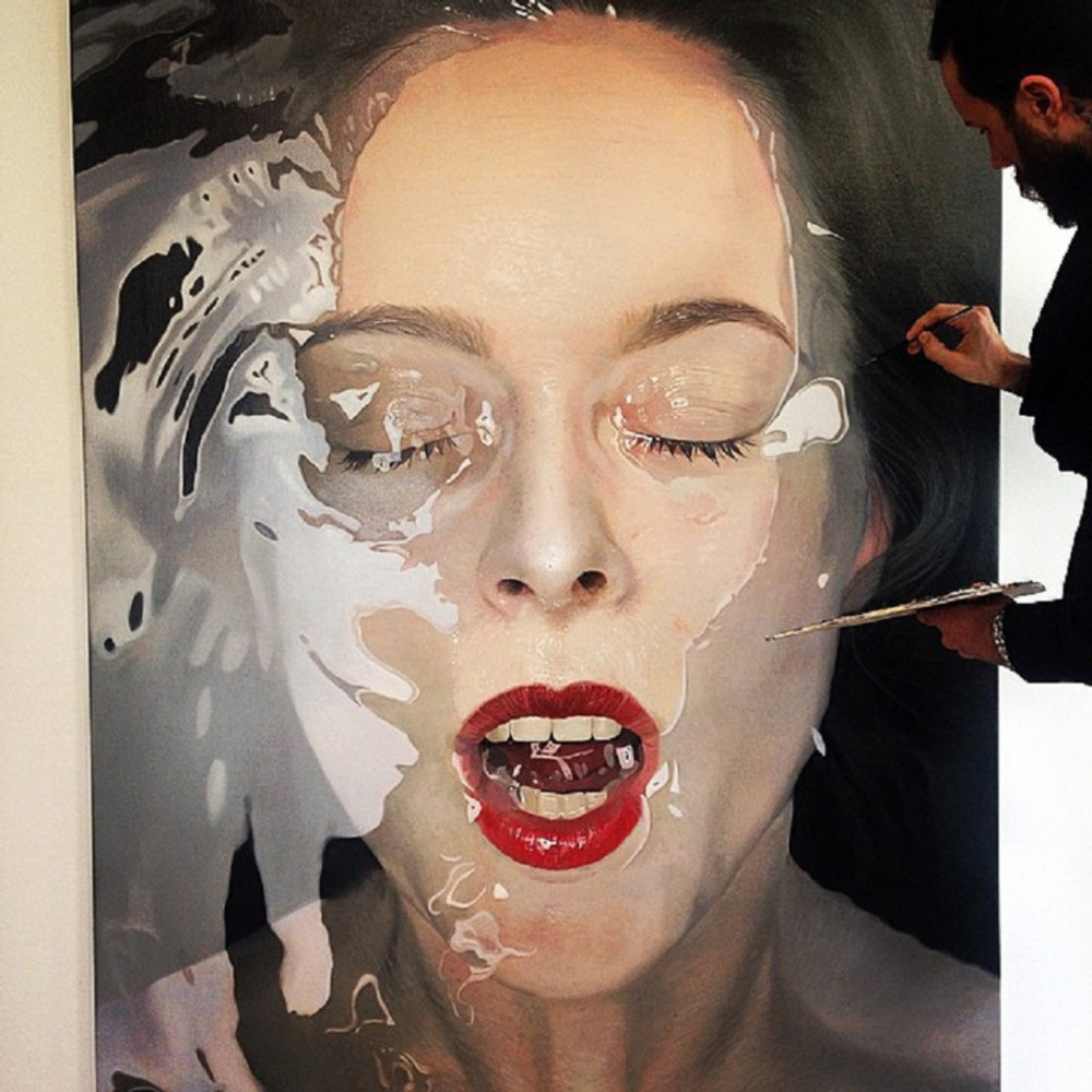 Oil On Canvas by Mike Dargas