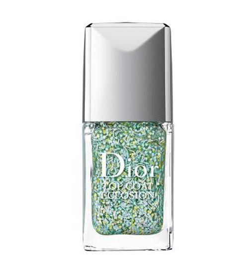 Le top coat Eclosion de Dior, 26,50 €.