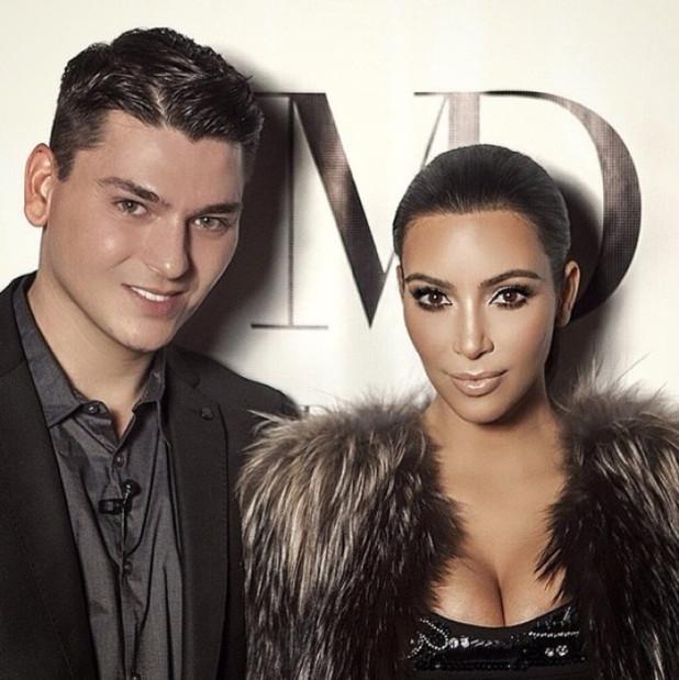 Mario Dedivanovic & Kim Kardashian West