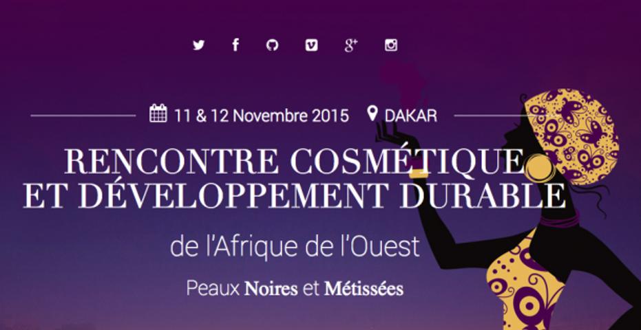 Rencontre Cosmétique et Développement durable de l'AFRIQUE de L'OUEST 2015