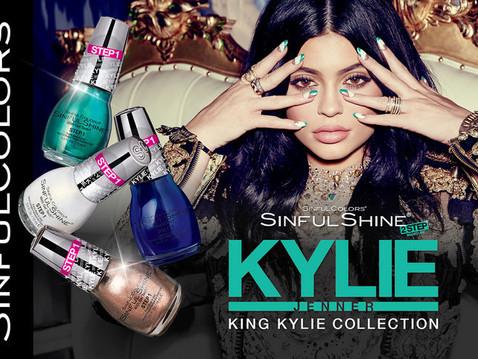 King Kylie Sinful Colors Shine | Les vernis signés Kylie Jenner.