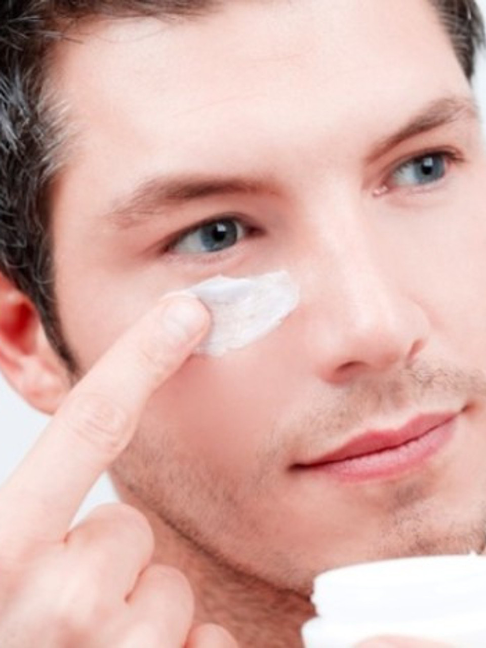 Mens eye contour