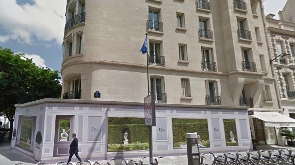 La future boutique Christian Dior