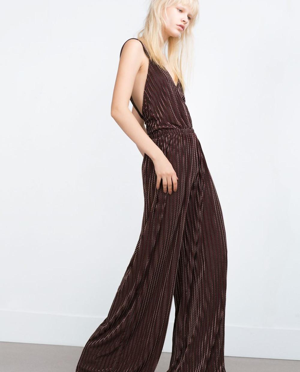 Zara - PRINTED JUMPSUIT 39,95€