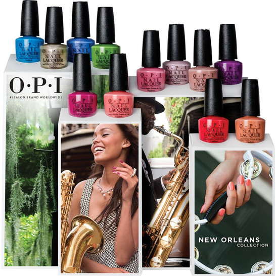 Collection Nouvelle-Orléans OPI - 15 ml - 16,00€