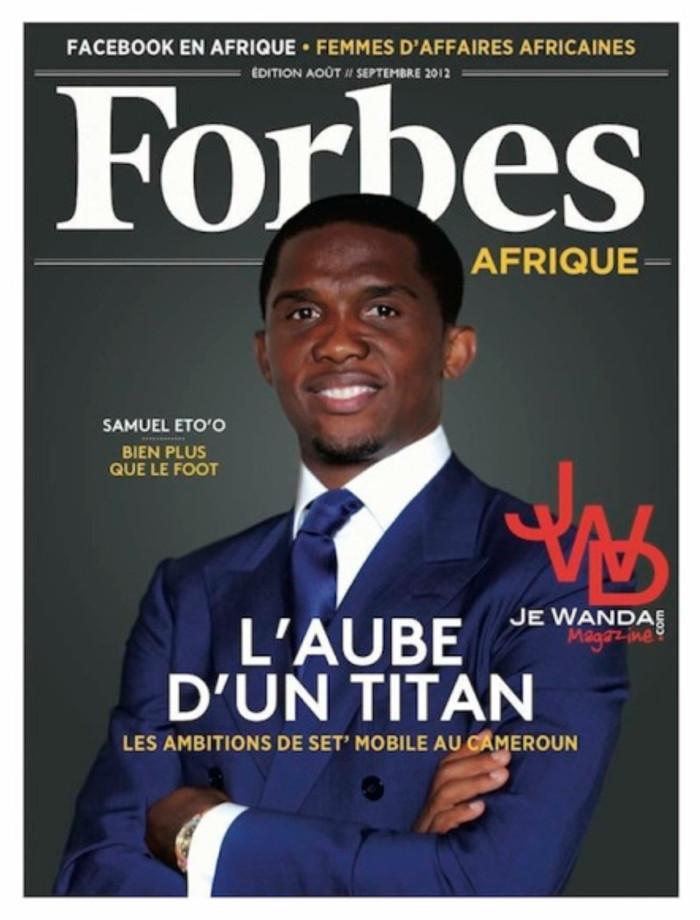 Samuel Eto'o,  footballeur camerounais.