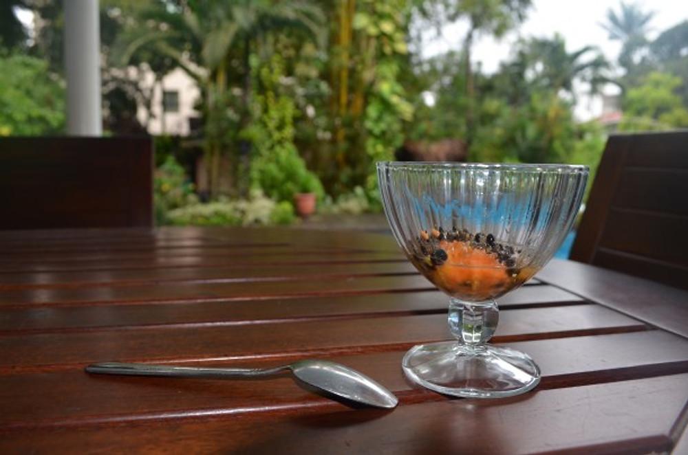 Pulpe de papaye
