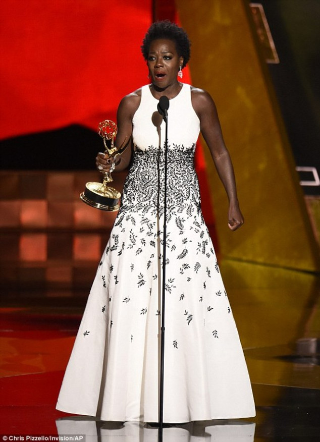 Viola Davis made history on Sunday evening as the first woman of color to ever win Outstanding Actress in a drama series for her role in How to Get Away with Murder.