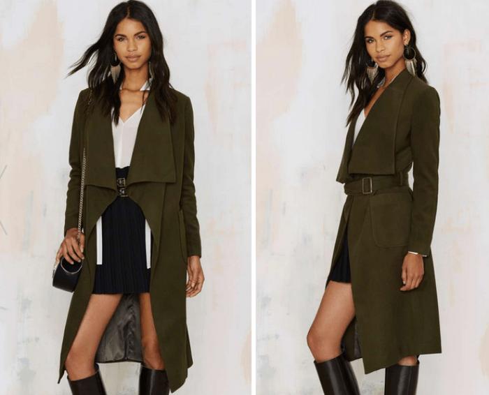 New York Minute Robe Coat €93,00 €65,00 (30% OFF)