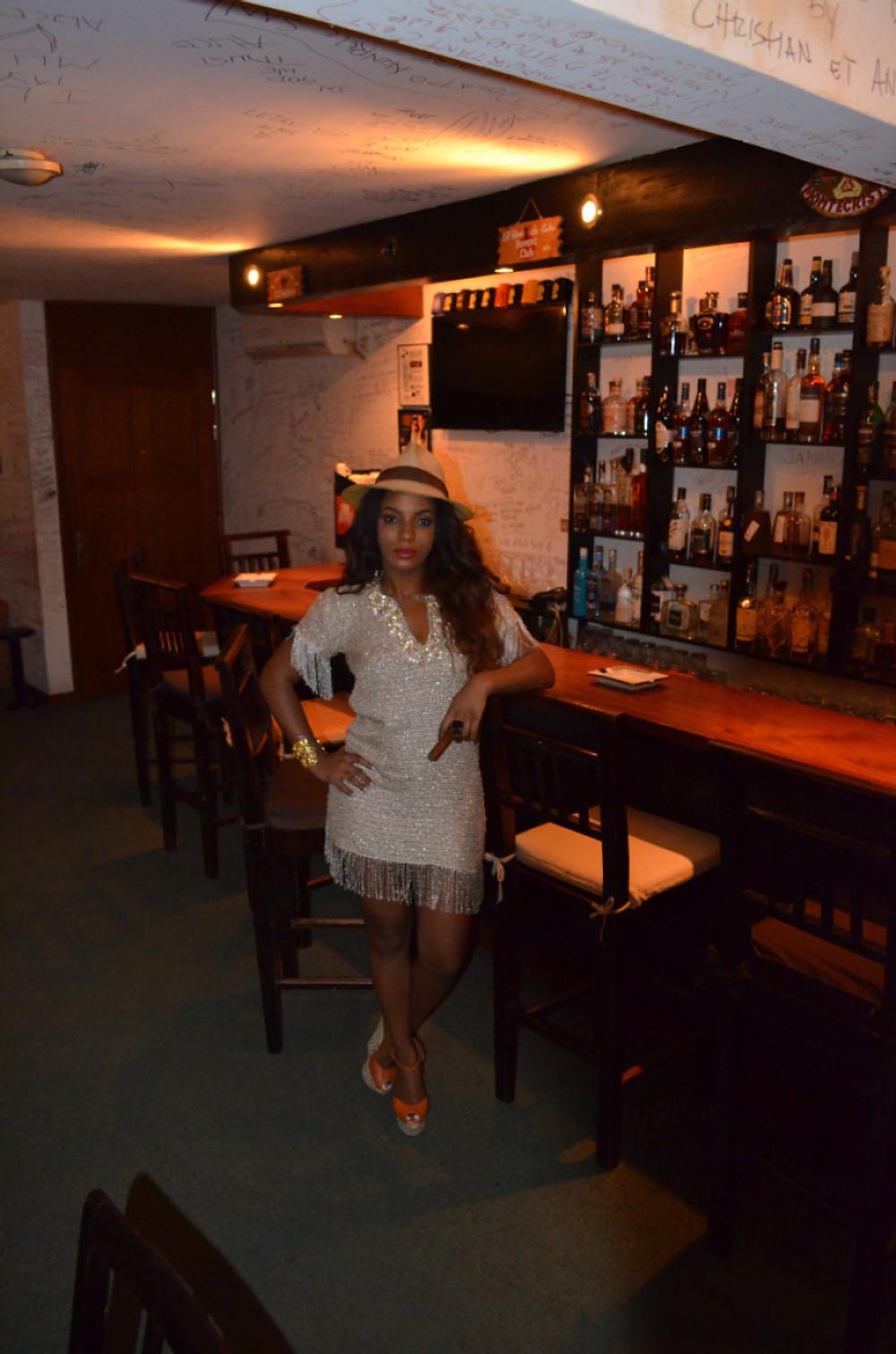 Habillée par KREYANN au HAVANA CLUB