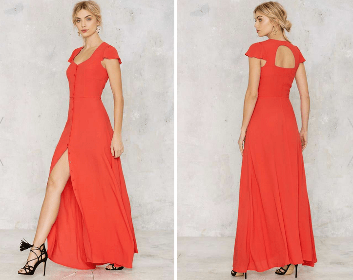 Glamorous Button Up and Drive Maxi Dress €61,00 €37,00 (39% OFF)