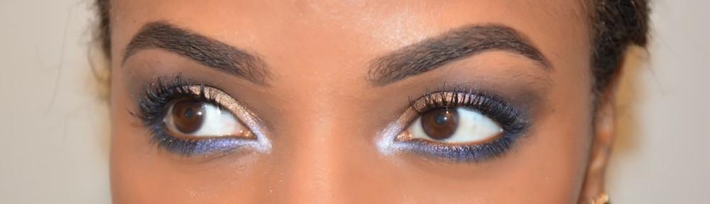 Pour mon maquillage, j'ai utilisé 5 couleurs : SMOG, UV-B, 501, ROADSTRIP et LACED