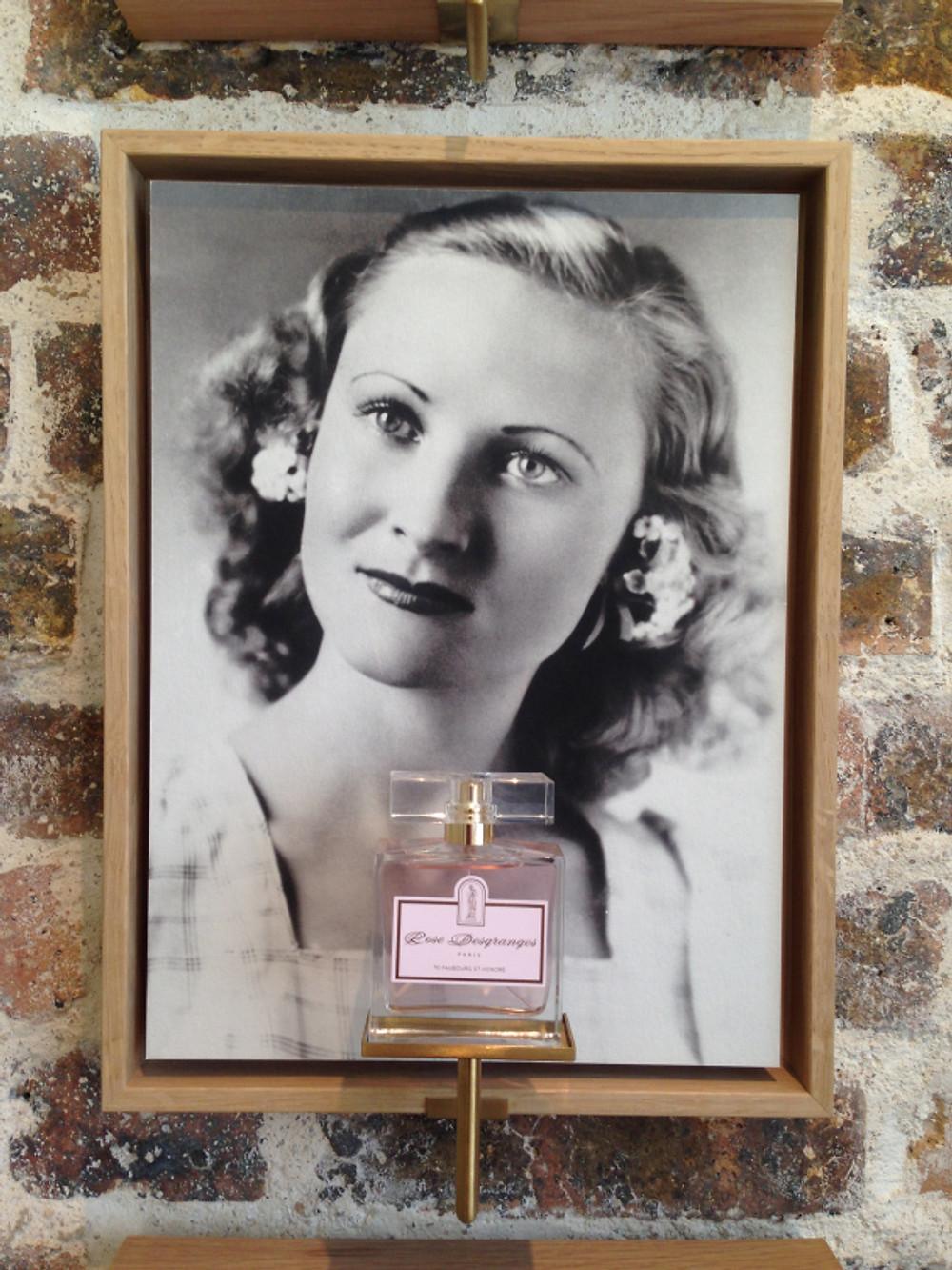 ROSE DESGRANGES LA FEMME & SON PARFUM.
