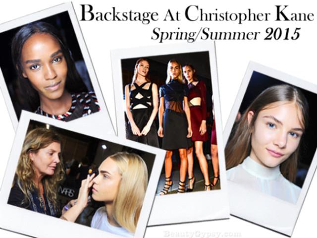 Spring/Summer 15 Christopher Kane show.