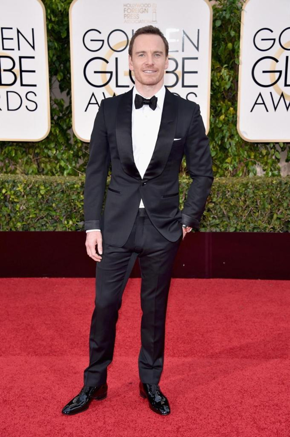 Actor Michael Fassbender attends the 73rd Annual Golden Globe Awards held at the Beverly Hilton Hotel on January 10, 2016 in Beverly Hills, California.
