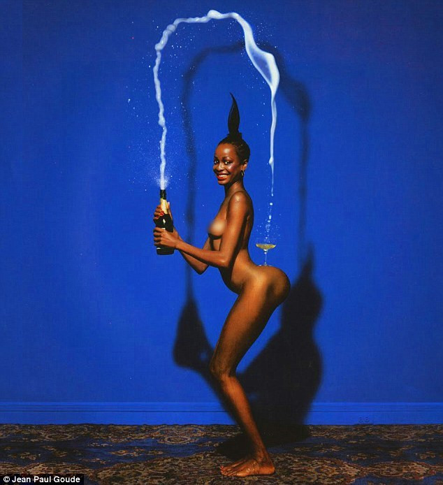 'Champagne Incident' by Jean-Paul Goude