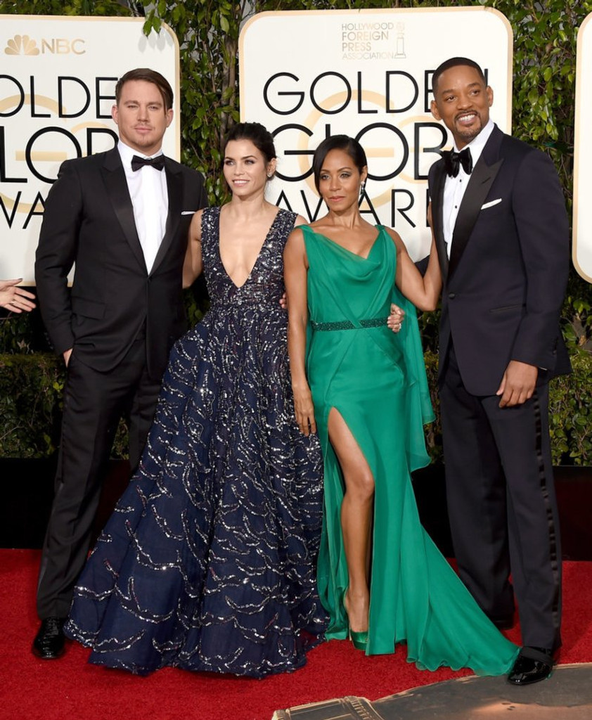 Channing Tatum, Jenna Dewan Tatum & Jada Pinkett Smith and Will Smith