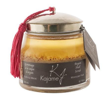Gommage à la coque d'argan Kajame -Pot - 200 ml - 42,00€