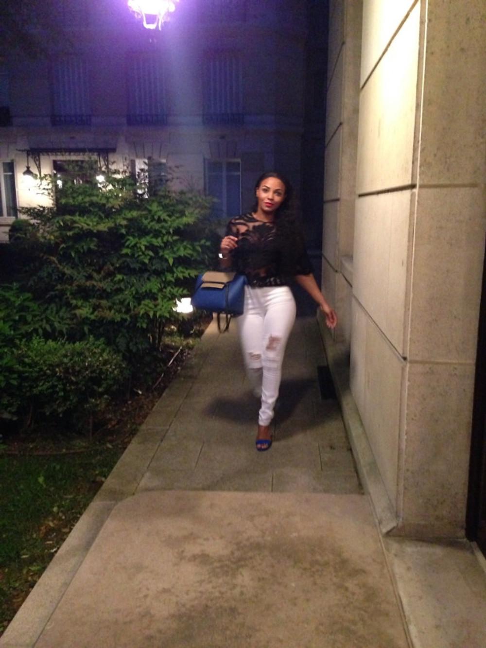 Céline Bag Zara Shirt River Island Jeans Ysl Shoes