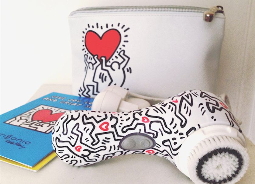 BROSSE CLARISONIC Édition Spéciale Keith Haring Mia 2 Pop.