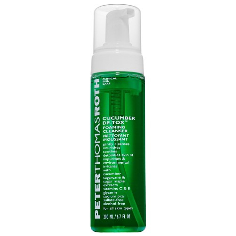 Peter Thomas Roth Cucumber De-Tox Foaming Cleanser Nettoyant visage