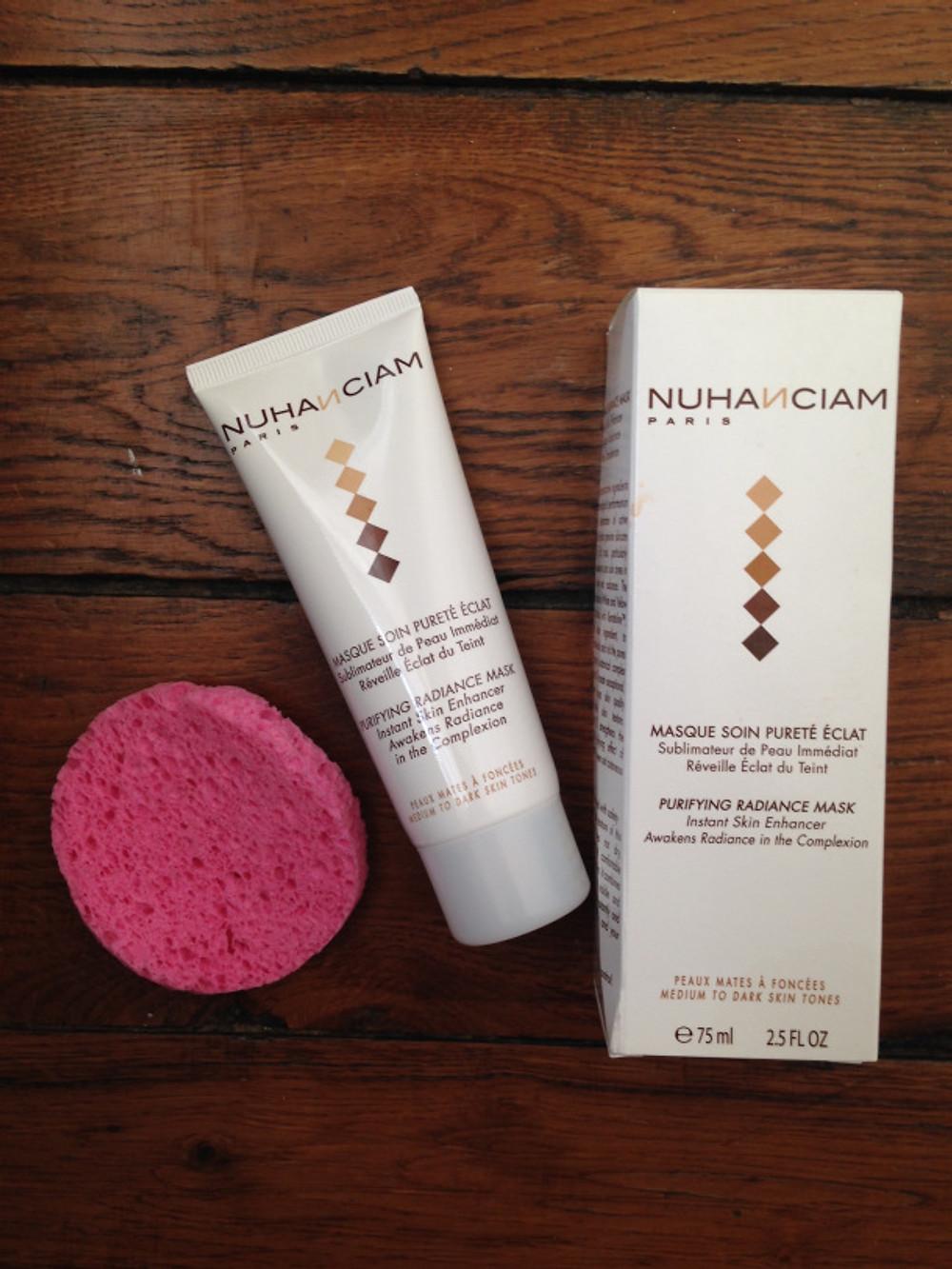 Le Masque Soin Pureté Éclat Sublimateur de Peau Nuhanciam  18,90 € TTC