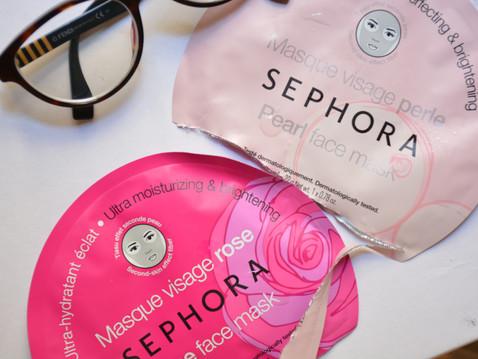 J'ai testé le Masque Tissu – Perle de Sephora !