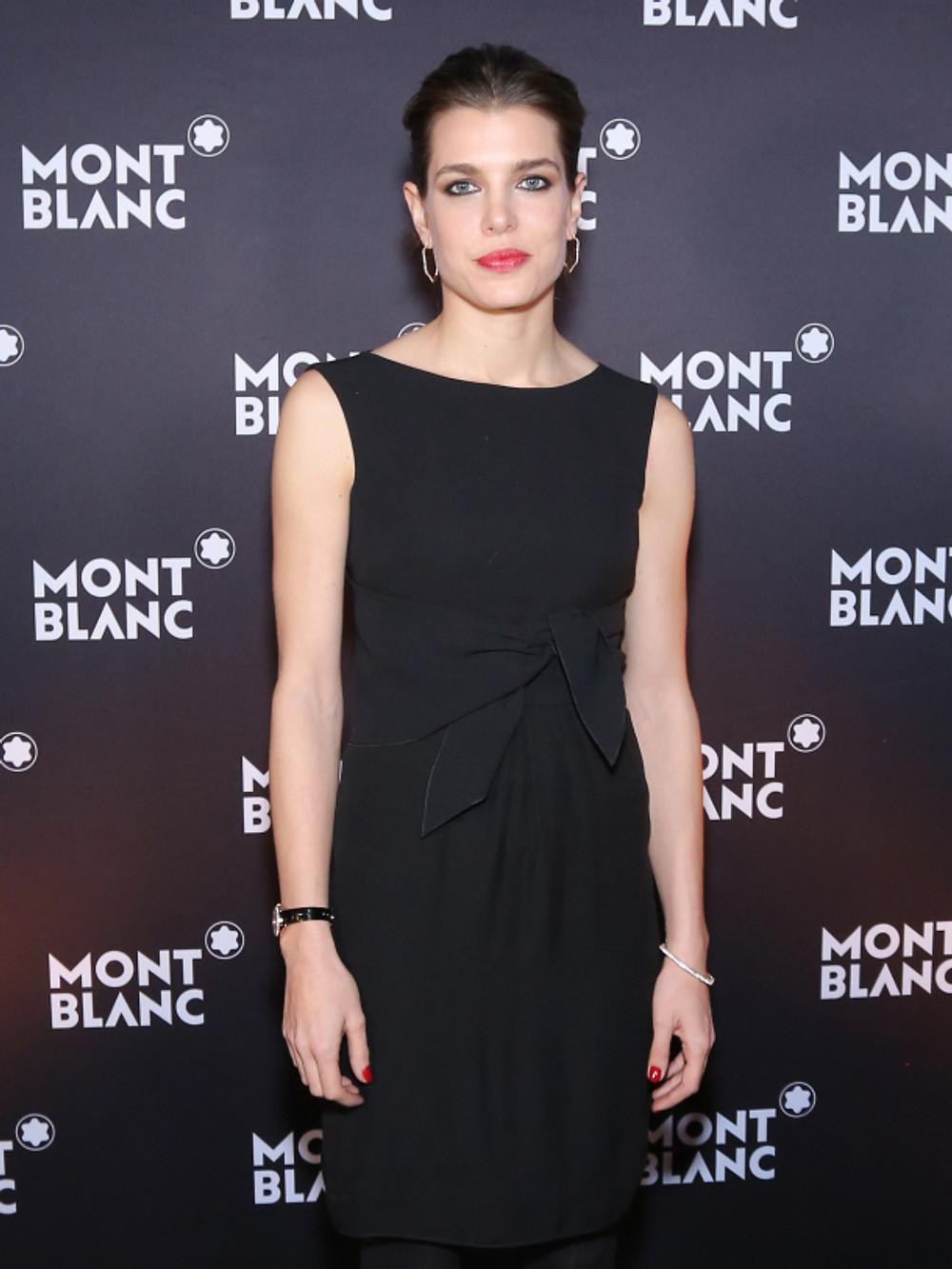 Charlotte Casiraghi, nouvelle Ambassadrice de Montblanc.
