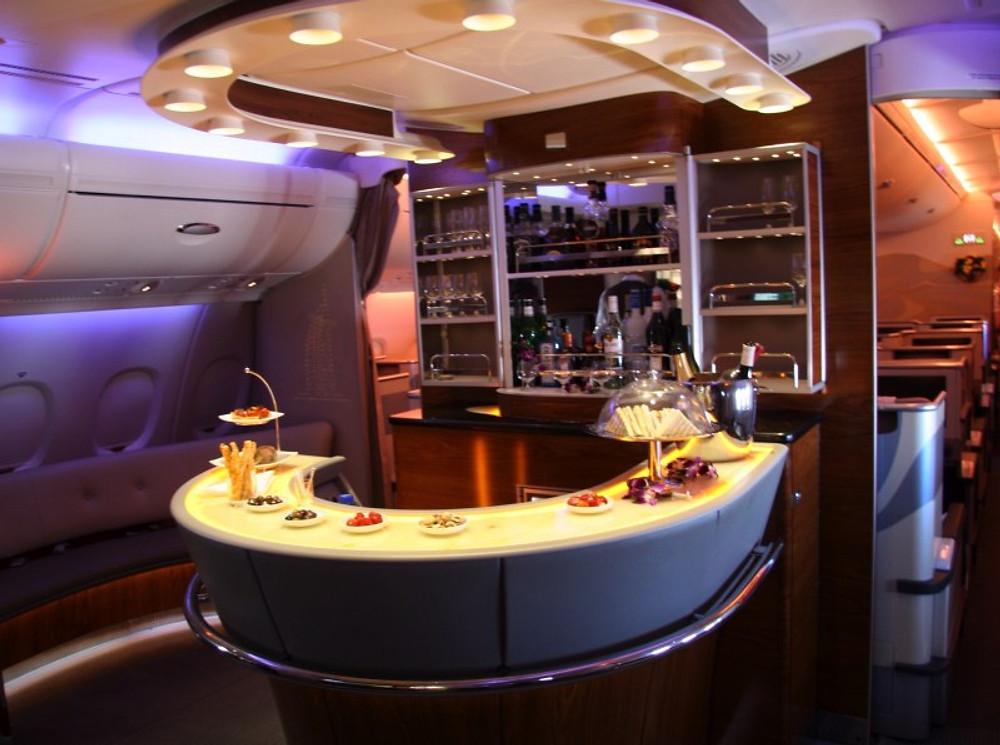Le skybar de Emirates