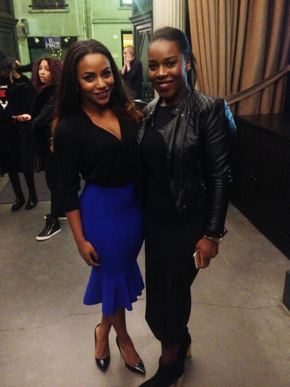 Avec Fatou Diallo du blog BlackInTheAir