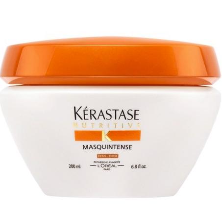 Masquintense de Kérastase. Un soin nutritif d'exception contenant la plus forte concentration d'Irisome pour gorger les cheveux en nutriments essentiels à leur beauté et maintenir un taux de nutrition idéale pour longtemps.