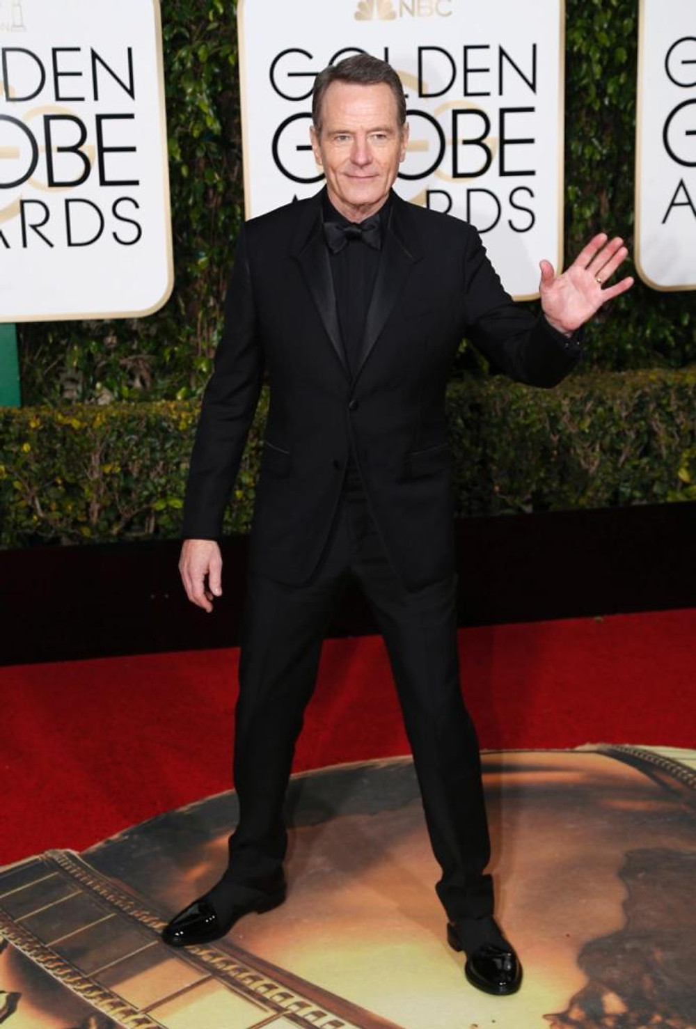 Actor Bryan Cranston arrives at the 73rd Golden Globe Awards in Beverly Hills, California January 10, 2016